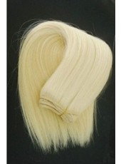 14'' Blonde Straight Top Quality Human Hair Beautiful Weave