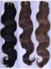 14'' Silky Wavy Top Quality Human Remy Hair Wholesale Weave
