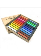 24Colors Fashion Non-toxic Pastel Hair Dye Color Chalk