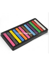 Top Quality Pastel Hair Dye Color Chalk 12 Colors