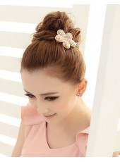 South Korea Import Authentic Beaded Flower Hairpin