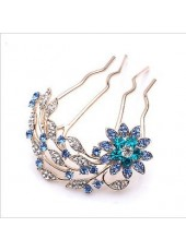 Korean Elegant Temperament Diamond Hairpin