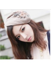 Korean Elegant Bowknot Hat Hairpin