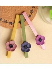 Korean Style Flowers Hairpin (Three Colors )