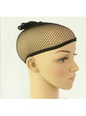 6Pack Black Wig Cap